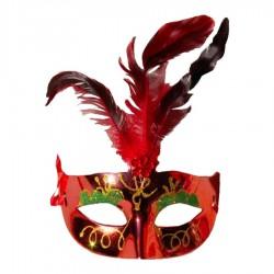 Antifaz Carnaval Pluma