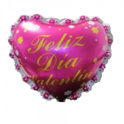 Globo corazón feliz día