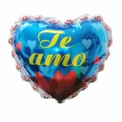 Globo corazón te amo