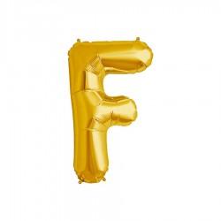 Globo letra F de 16 pulgadas