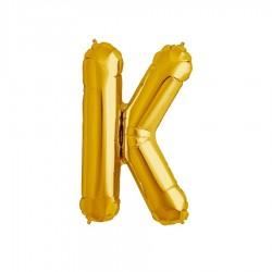 Globo letra K de 16 pulgadas