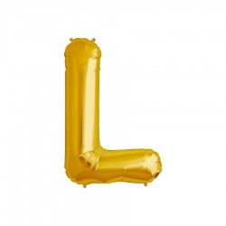 Globo letra L gigante