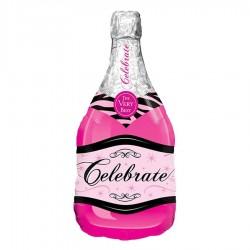Globo champaña rosa celebrate