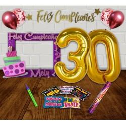Kit cumpleaños mediano