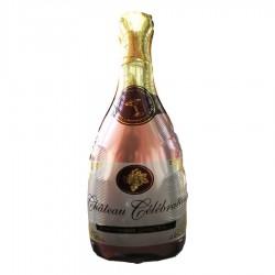 Globo champaña rosa
