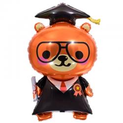 Globo de Graduación de oso