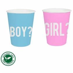 12 Vasos girl or boy
