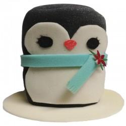 Sombrero Pingüino Bufanda