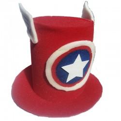 Sombrero Capitán América