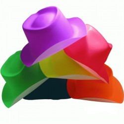 Sombrero Vaquero  Neon