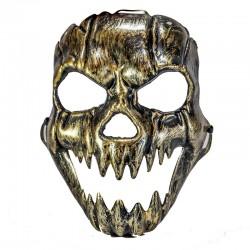 Mascara calavera metal