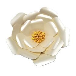 Flor de papel jumbo