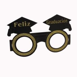 Lente graduación cartón